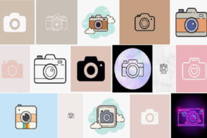 camera icon aesthetic iphone ios