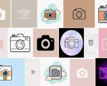 camera icon aesthetic iphone ios