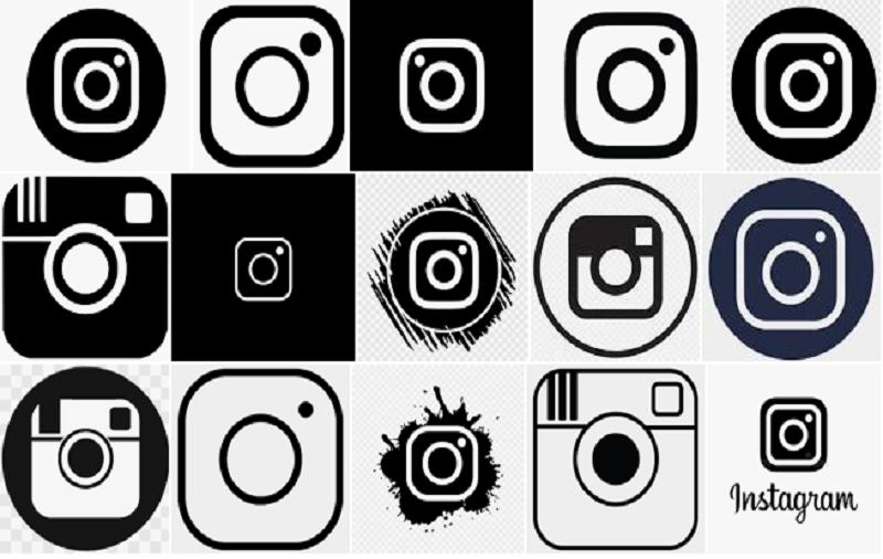 Black Instagram Logo Download
