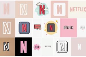 Aesthetic Netflix Icon
