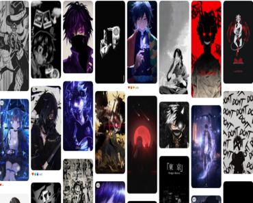 Dark Anime Wallpaper 4k iPhone